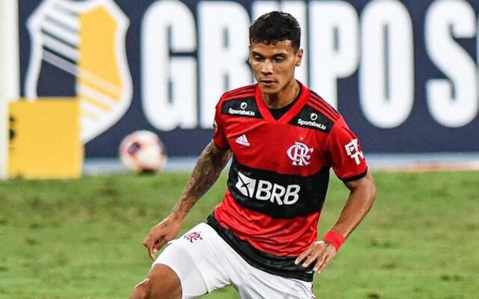 FECHADO - Depois de Gerson, mais um volante está de saída do Flamengo. Trata-se de Richard Rios, que está a caminho do Mazatlán, do México, por empréstimo. O colombiano de 21 anos renovou com o Rubro-Negro até junho de 2023 antes de acertar o seu destino, cuja cessão será até por uma temporada.