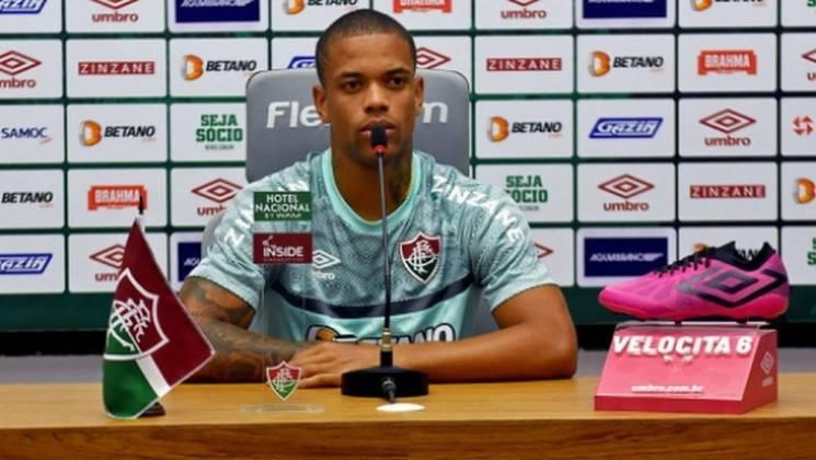 FECHADO - Depois de renovar o contrato com o Fluminense até 2026, Caio Paulista concedeu entrevista coletiva no CT Carlos Castilho nesta sexta-feira. O atacante destacou que o novo vínculo é a realização de um sonho, nascido ainda em Xerém, nas categorias de base do Tricolor.