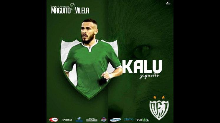 FECHADO - Depois de três temporadas atuando no exterior, o volante Ronaldo Kalu acertou a sua volta ao futebol brasileiro. O atleta acertou com o Jataiense, que disputará a primeira divisão do futebol Goiano depois de dez anos.