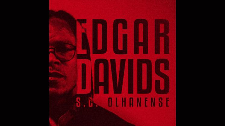 FECHADO - Edgar Davids, histórico jogador da seleção holandesa e grandes clubes europeus, é o novo técnico do Olhanense, da terceira divisão portuguesa. O ex-jogador estava na função de auxiliar técnico do Telstar, da segunda divisão da Holanda