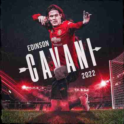 FECHADO - Edinson Cavani assinou mais um ano de contrato com o Manchester United, segundo a imprensa inglesa. Apesar dos rumores sobre uma possível transferência para o Boca Juniors ao final desta temporada, o veterano de 34 anos permanece na Inglaterra até 2022.