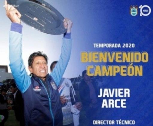 FECHADO: Em baixa desde a retomada do futebol peruano, o Binacional não teve dúvidas ao demitir o técnico Flabio Torres. Pouco mais de 24 horas, o time azul anunciou a chegada de Javier Arce.