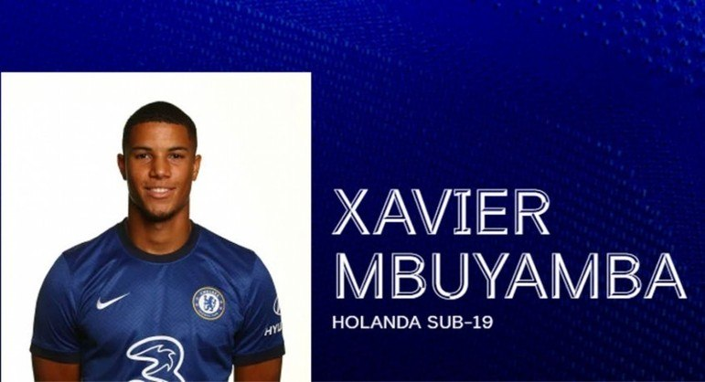 FECHADO - Em busca de reforçar sua equipe para a próxima temporada, o Chelsea segue mapeando o mercado de olho em bons nomes para fortalecer sua equipe. Com isso, o time anunciou a contratação do zagueiro holandês Xavier Mbuyamba, ex-Barcelona, por três temporadas.