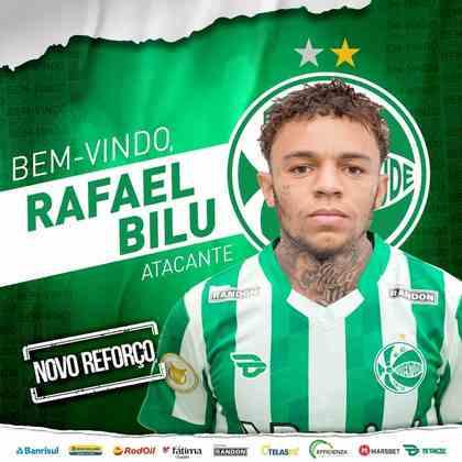 FECHADO - Em empréstimo do Corinthians, o Juventude anunciou a chegada do atacante Rafael Bilu, que teve destaque na base do Alvinegro e não foi aproveitado pela equipe de cima.