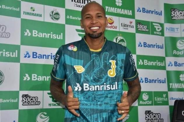 FECHADO - Ex-Flamengo e Fluminense, o lateral Wellington Silva foi apresentado como novo reforço do Juventude para a sequência da temporada. Ele afirmou que deseja conquistar o acesso à Série A com a equipe gaúcha.