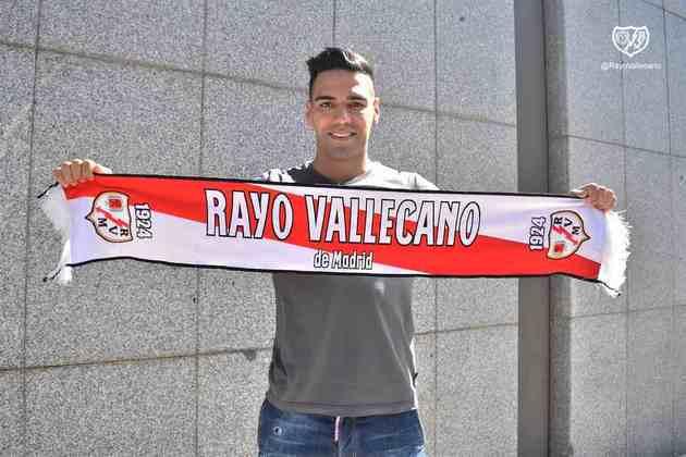FECHADO - Falcao García foi oficialmente apresentado como novo jogador do Rayo Vallecano e deve estrear pela nova equipe nas próximas rodadas.