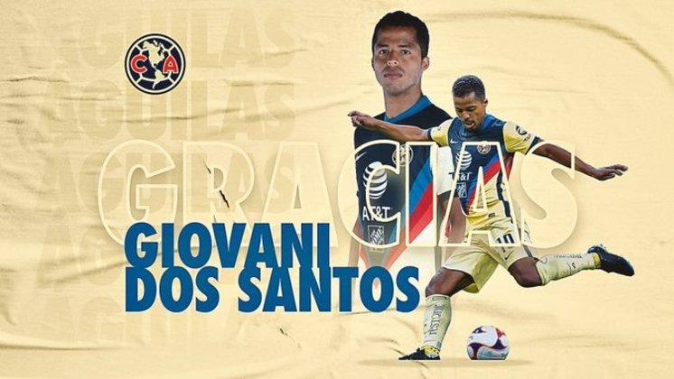Giovani dos Santos: atacante - 32 anos - mexicano - Fim de contrato com o América-MEX - Valor de mercado: 1,5 milhão de euros
