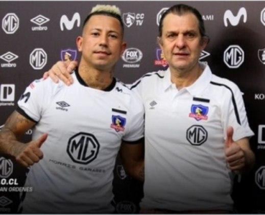 FECHADO: Fim da linha para Leo Valencia no Colo-Colo. Envolvido em polemica com a ex-mulher, Valeria Pérez, o atleta foi mandado embora do clube Albo.