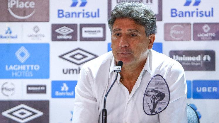 FECHADO - Fim da linha para Renato Gaúcho. Após a eliminação na Terceira Fase da Libertadores, algo inesperado, a diretoria do Tricolor se reuniu nesta quinta-feira e optou pela saída do comandante.