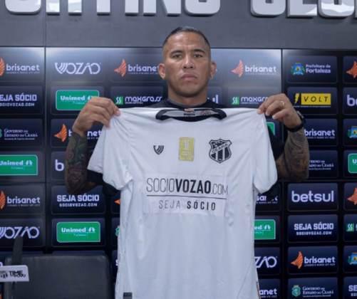 FECHADO - Garantido na Copa Sul-Americana, o Ceará foi ao mercado e contratou o atacante Jael, que possui vasta experiência no futebol brasileiro. Nesta terça-feira, ele foi apresentado ao Vozão e rasgou elogios ao seu novo clube. além disso, ratificou a sua escolha por defender o Alvinegro do Nordeste.
