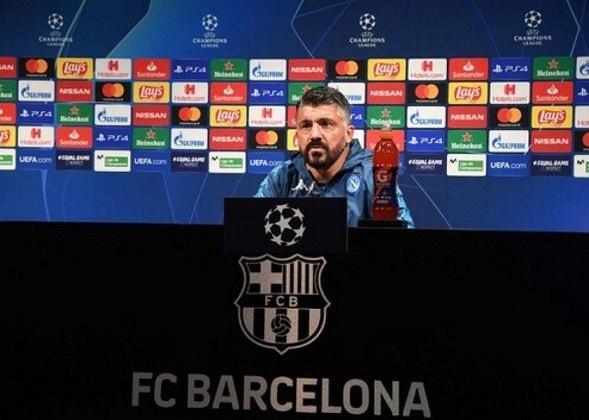 FECHADO - Gennaro Gattuso chegou a um acordo para renovar com o Napoli por mais três anos. O