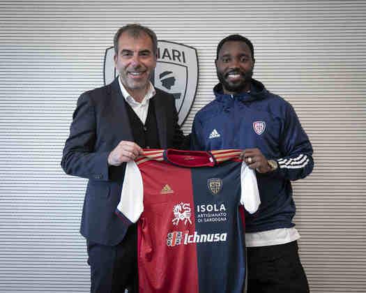FECHADO - Kadwo Asamoah fechou a sua transferência para o Cagliari até o final da atual temporada.