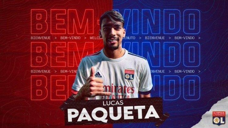 FECHADO - Lucas Paquetá não é mais jogador do Milan. Nesta quarta-feira, o meio-campista brasileiro foi anunciado oficialmente pelo Lyon, da França. O contrato do brasileiro com o clube francês irá até 2025.