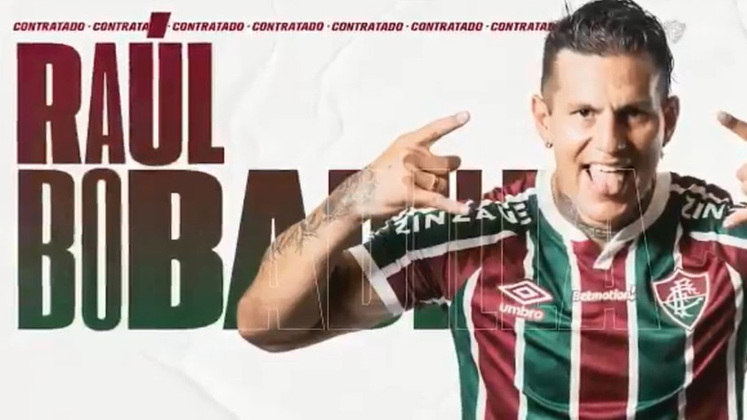 FECHADO - Mais um gringo confirmado no elenco do Fluminense. Neste sábado, o clube oficializou a chegada de Raúl Bobadilla, atacante que pertence ao Guaraní, do Paraguai. Ele desembarca no Tricolor por empréstimo até o fim deste ano, com opção de compra com valor fixado.