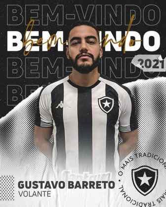 FECHADO - Mais um reforço para o meio-campo. Depois de anunciar Luís Oyama, foi a vez de o Botafogo confirmar oficialmente a contratação de Barreto, volante que chega por empréstimo até o fim da temporada junto ao Criciúma. O clube anunciou o acordo nas redes sociais na tarde desta quarta-feira. O Alvinegro terá, ao final do período do empréstimo, uma opção de compra de R$ 1,5 milhão para adquirir 70% dos direitos econômicos do jogador de 25 anos.