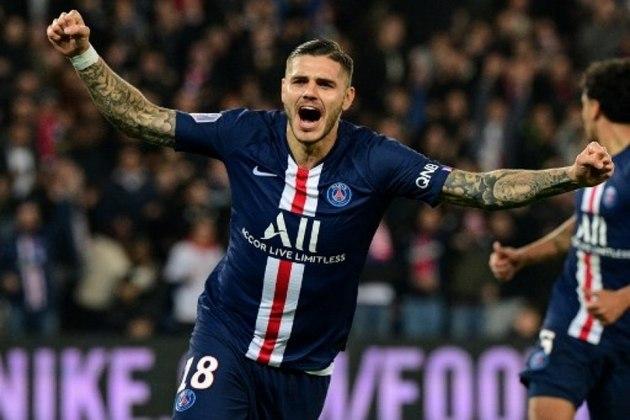 FECHADO -  Mauro Icardi é, oficialmente, jogador do Paris Saint-Germain. Neste domingo, o clube francês anunciou a contratação do argentino, que jogou por empréstimo na equipe parisiense na temporada. os franceses desembolsaram 50 milhões de euros (R$ 301 milhões) por um acordo até 2024.