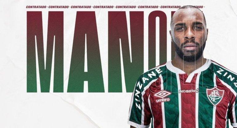 FECHADO - Na expectativa pela estreia na Copa Libertadores, o Fluminense anunciou oficialmente a contratação do zagueiro Manoel, ex-Cruzeiro, nesta quarta-feira. O defensor, que rescindiu com a Raposa na segunda-feira, assina sem custos um contrato até abril de 2023. O jogador já esteve presente no CT Carlos Castilho na última terça e conheceu o grupo.