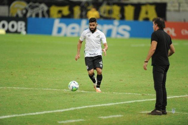 FECHADO: Na noite de quinta-feira, o Santos anunciou a renovação de contrato com o lateral-esquerdo Felipe Jonatan até fevereiro de 2025. A notícia foi publicada através das redes sociais do clube.