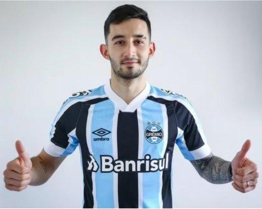 FECHADO - Na noite desta quinta-feira, o Grêmio confirmou a contratação do volante Matheus Villasanti, que estava no Cerro Porteño.  O meio-campista estava no futebol paraguaio e chega para defender os núcleos do Tricolor até 2024. O tempo brasileiro desembolsou R $ 17,2 milhões pela negociação.