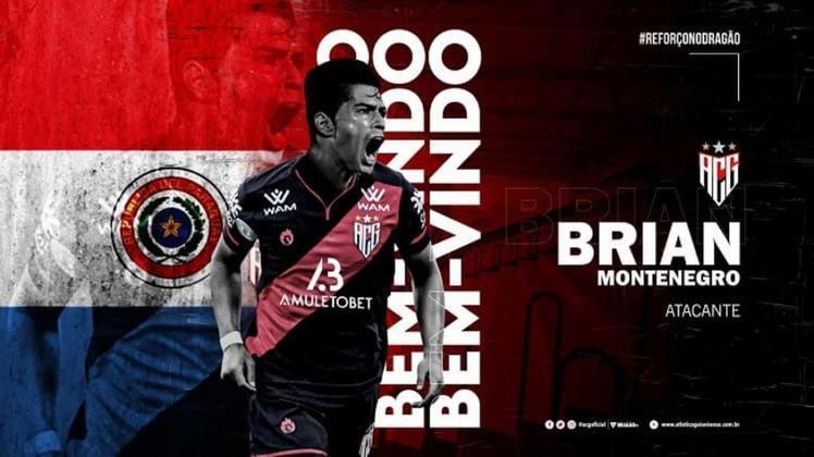 FECHADO - Negociação que era tratada como encaminhada há alguns dias, a contratação do atacante Brian Montenegro por parte do Independiente del Valle foi confirmada nesta terça-feira (3) pelo Atlético-GO através de postagem oficial do clube.