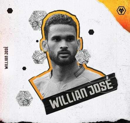 FECHADO - Nesse sábado (23), o Wolverhampton anunciou a chegada do atacante Willian José. O brasileiro de 29 anos chega por empréstimo do Real Sociedad para ter sua primeira experiência na Premier League.