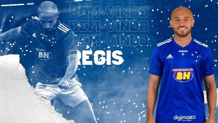 FECHADO - Nesta sexta, o Cruzeiro anunciou a contratação por empréstimo do meia Régis, que pertence ao Bahia. O atleta ficará no clube mineiro até o fim da temporada, com a possibilidade de permanecer por mais um ano.