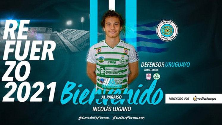 FECHADO - Nicolás Lugano, filho do ídolo uruguaio e do São Paulo, Diego Lugano, acertou com o Cancún FC, do México, para jogar a Liga de Expansão MX, uma liga semiprofissional criada no ano passado.