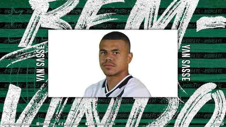 FECHADO - O América-MG fechou a contratação de Yan Sasse até maio de 2022, ficando até o fim do estadual da próxima temporada.