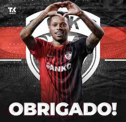 FECHADO - O atacante André, ex-Sport, Atlético-MG e Corinthians, deixou o Gaziantep, da Turquia, e agora está livre no mercado para assinar com qualquer clube.