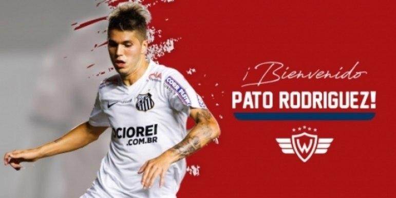 FECHADO - O atacante Patito Rodríguez foi anunciado pelo Jorge Wilatermann, da Bolívia. O atacante argentino, que já passou pelo Santos, ficará no clube boliviano até 2022.