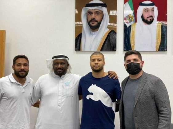 FECHADO - O atacante Walisson Alex é o novo reforço do Al-Bataeh, dos Emirados Árabes Unidos. O jogador de 20 anos estava no Corinthians, onde defendeu a equipe na última temporada.