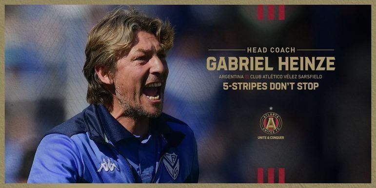 FECHADO - O Atlanta United acertou a contratação do técnico argentino, Gabriel Heinze.