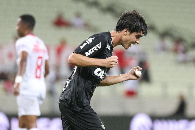 FECHADO - O Atlético-MG confirmou o empréstimo do volante Gustavo Blanco, de 24 anos, ao Goiás até o fim do Campeonato Brasileiro da Série A.