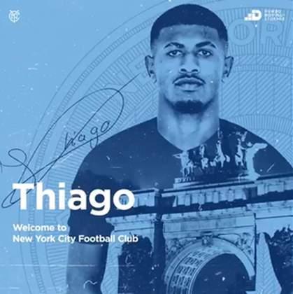 FECHADO - O Bahia acertou a venda do atacante Thiago para o New York City, dos Estados Unidos. O jogador havia sido artilheiro da Copa do Brasil sub-20 e sai com destaque do futebol brasileiro.