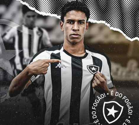 FECHADO - O Botafogo anunciou na manhã desta sexta-feira a compra em definitivo do lateral-esquerdo Paulo Victor até 2024. O jovem de 19 anos estava emprestado pelo Nova Iguaçu até o fim da temporada, mas agora teve parte dos direitos econômicos adquiridos pelo clube de General Severiano.
