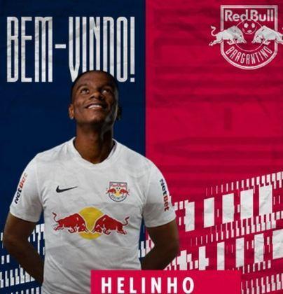 FECHADO - O Bragantino tem novo reforço para o sistema ofensivo. Trata-se de Helinho, que chegou emprestado pelo São Paulo e fica no Massa Bruta até dezembro de 2021.