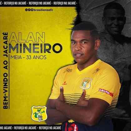FECHADO - O Brasiliense anunciou nesta quinta-feira a contratação do meia Alan Mineiro, ex-Corinthians e Vila Nova-GO. O meia chega para disputar a Série D pelo Jacaré.