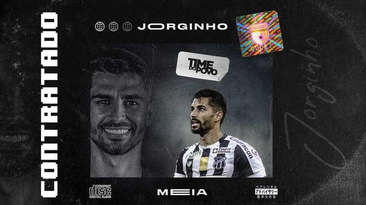 FECHADO - O Ceará anunciou a contratação do meia Jorginho, que disputou o último Brasileirão pelo Athletico Paranaense.