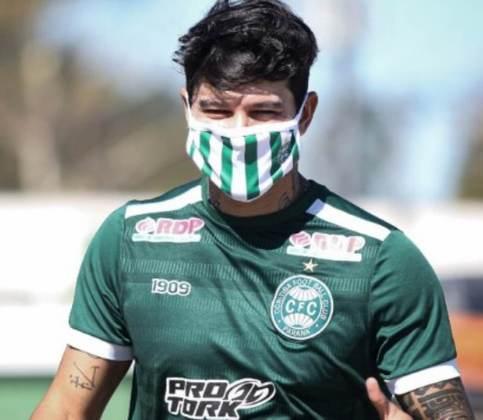 FECHADO - O Coritiba comunicou que o meia Giovanni Augusto teve o seu contrato encerrado e não faz mais parte do grupo do Coxa Branca.