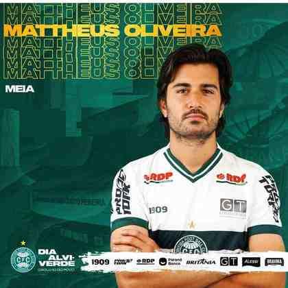FECHADO – O Coritiba também contratou o meia Mattheus Oliveira. O jogador foi revelado pela base do Flamengo e é filho do tetracampeão Bebeto. O atleta de 26 anos estava no Sporting, de Portugal, e reforça o Coxa por empréstimo até 2021.