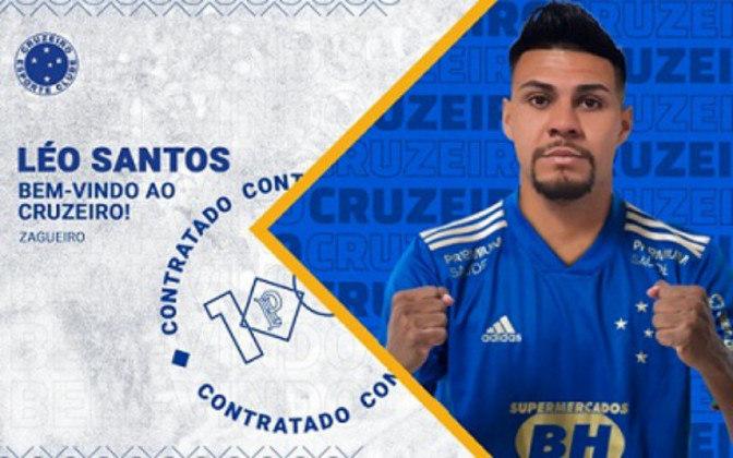FECHADO - O Cruzeiro anunciou nesta terça-feira, 29 de junho, a contratação do zagueiro Léo Santos, que veio do Ituano. O jogador fica por empréstimo na Raposa até o fim da Série B.  Léo Santos já teve o seu nome publicado no Boletim Informativo Diário (BID) da Confederação Brasileira de Futebol (CBF).