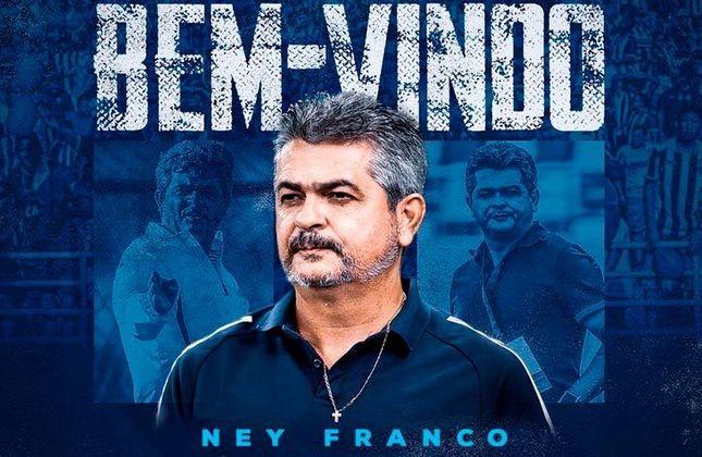 FECHADO - O CSA fez o anúncio oficial de seu novo treinador. O escolhido para ocupar o cargo antes exercido por Bruno Pivetti é Ney Franco, que exerceu seu último trabalho no Cruzeiro.