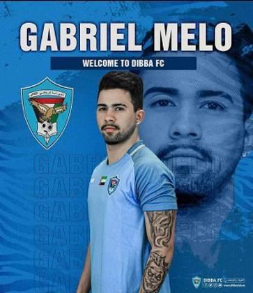 FECHADO - O Dibba Al Fujairah, da segunda divisão dos Emirados Árabes Unidos, anunciou a contratação do meia-atacante brasileiro Gabriel Melo, de 21 anos. Ele veio do Al-Ittihad Kalba.