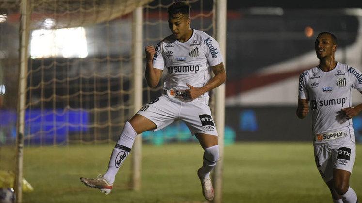 FECHADO - O executivo de futebol do Santos, André Mazzuco, descartou a renovação do contrato de Kaio Jorge, válido até dezembro de 2021. Como antecipado pelo LANCE!, o Peixe espera uma proposta nesta janela de transferência para negociar o atacante.