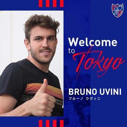 FECHADO - O FC Tokyo fechou a contratação do zagueiro Bruno Uvini por uma temporada