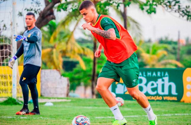 FECHADO - O Fluminense vai dando destino aos jogadores que estão fora dos planos de Roger Machado. O Sampaio Corrêa anunciou a contratação de Mascarenhas, cria da base do Tricolor. O lateral-esquerdo de 23 anos jogará emprestado até o fim da Série B do Brasileirão.