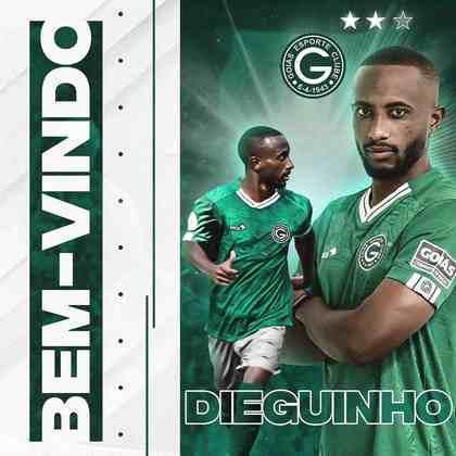 FECHADO - O Goiás fechou a contratação de Dieguinho, que estava no Boa Esporte e defenderá o Esmeraldino em 2021.