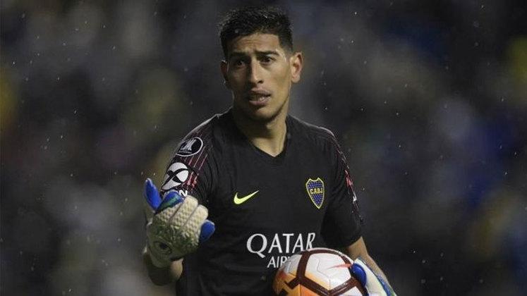 FECHADO - O goleiro Esteban Andrada está de clube novo. O argentino deixou o Boca Juniors e vai defender o Monterrey, do México, na próxima temporada.