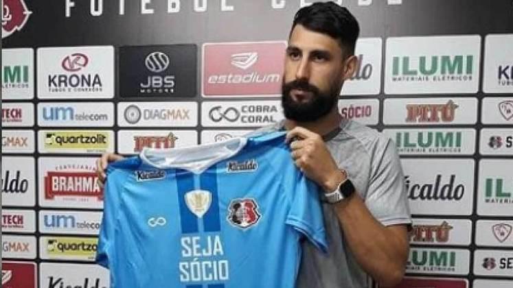 FECHADO - O goleiro uruguaio Martin Rodriguez assinou com o Santa Cruz para a temporada 2021. O jogador defendeu o Operário-PR, na Série B do Brasileirão de em 2020.