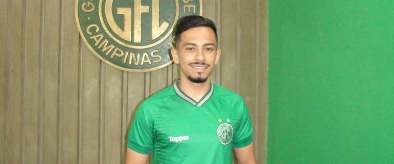 FECHADO: O Guarani confirmou nesta sexta-feira (28) a chegada de Alan, do Palmeiras, por empréstimo até o final do Campeonato Brasileiro da Série B, em fevereiro do ano que vem.